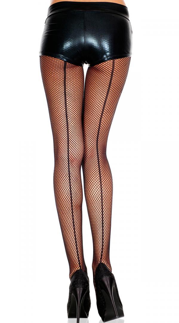 Fishnet Pantyhose With Backseam, Fishnet Stockings With Back Seam